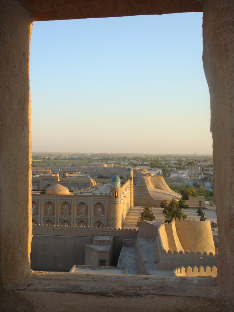 Vista de Khiva. Uzbekistán