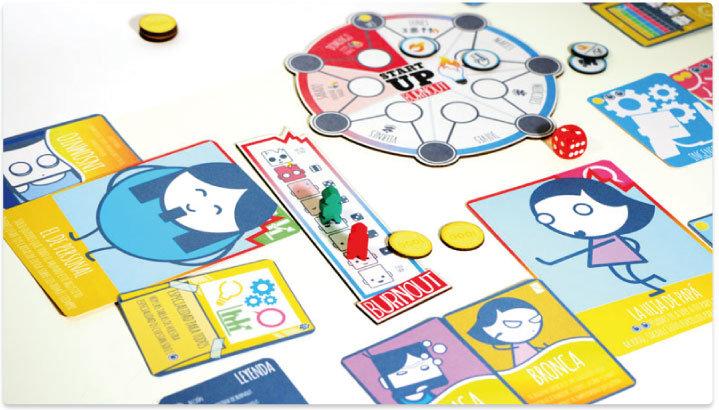 Startup burnout verkami for Ni si ni no juego de mesa