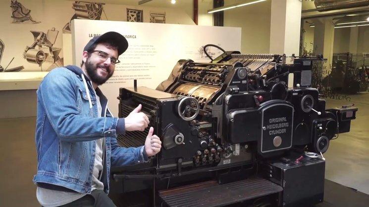 Jaime de la Puente, el loco de la imprenta