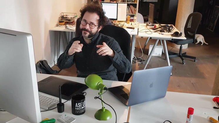Álex Martínez, el loco del diseño