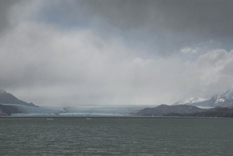 Lago Argentino y glaciar Upsala. Parque Nacional de los Glaciares.