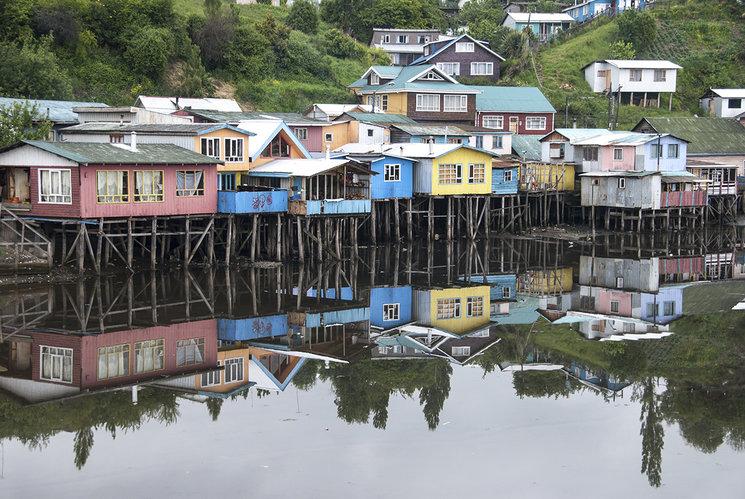 Castro. Isla Grande de Chiloé.