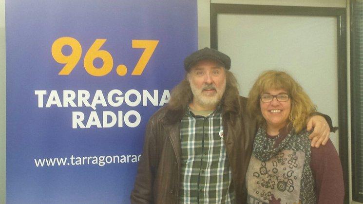 Joan Reig i Silvia Garcia a Tarragona Ràdio