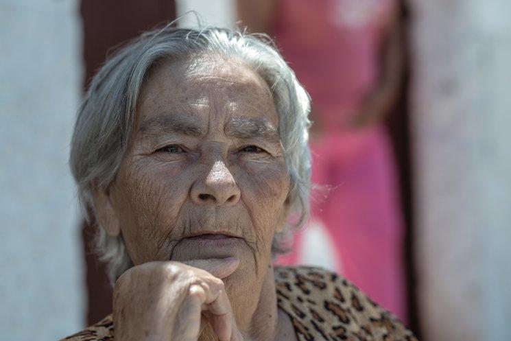 Doña Ana. Vecina afectada por los deshaucios de los Barracones.
