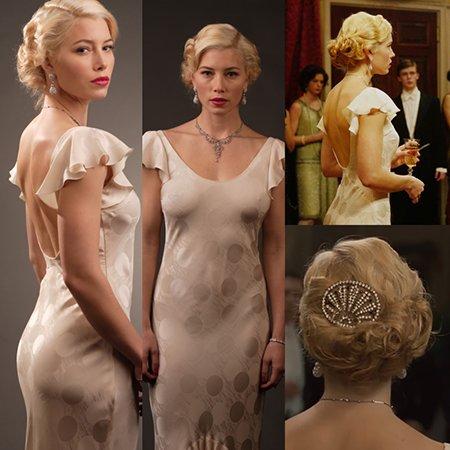 Inspiración para el vestido de Driss. Jessica Biel en