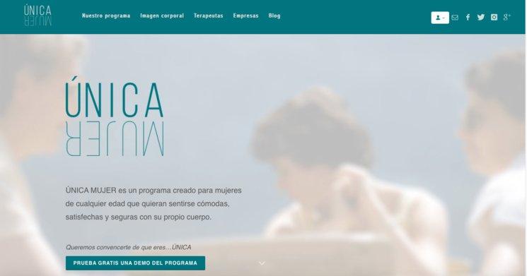 Página web UNICA MUJER