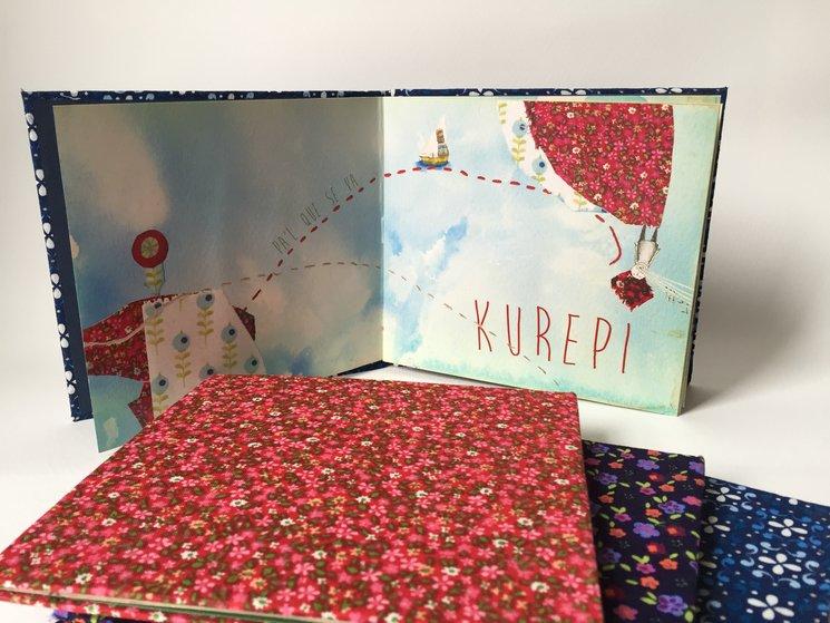 Primer disco de Kurepí con diseño de Dana Jasovich