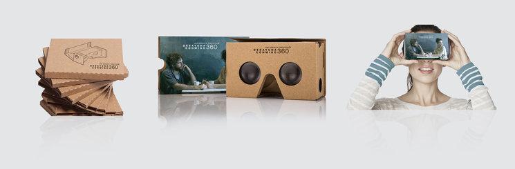 Prototipo de las gafas cardboard personalizadas