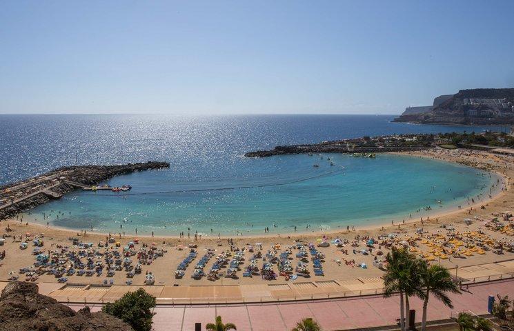 Playa Puerto Rico. Gran Canaria