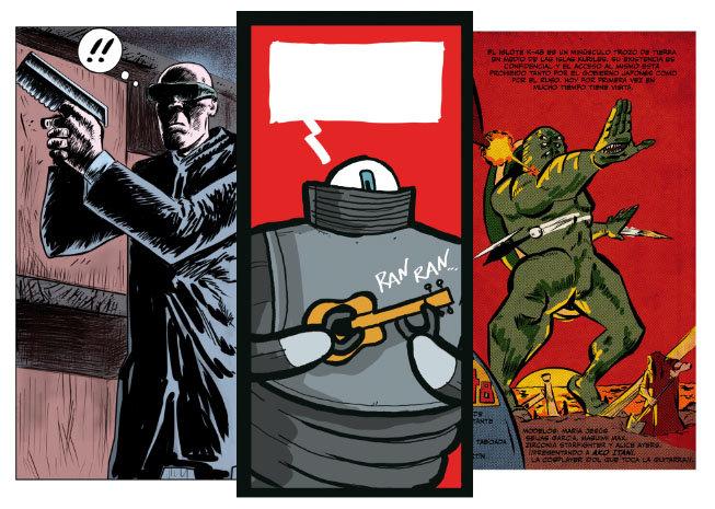 Asesinos, ukeleles y monstruos. Los cómics del nº3.