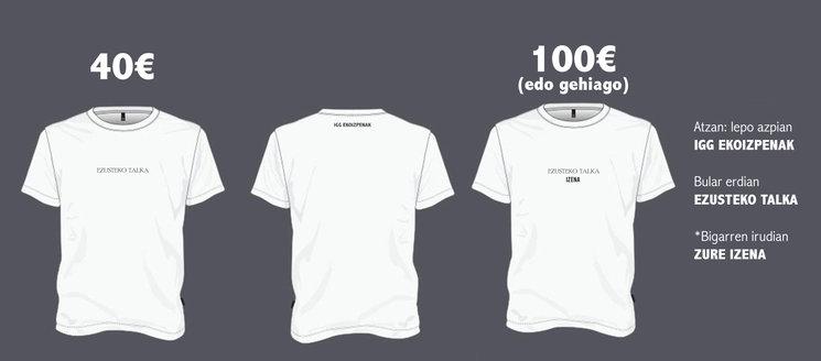 Diseño de las camisetas
