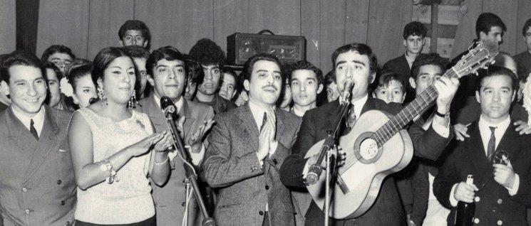 """Peret and the gypsies of  """"Carrer de la Cera"""""""