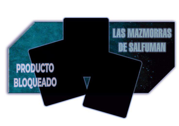 Ejemplo de baraja de Las Mazmorras de Salfumán