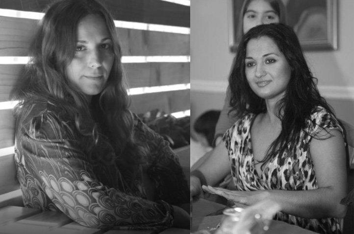 Paloma Zapata, director and Santa Salvat, associate producer