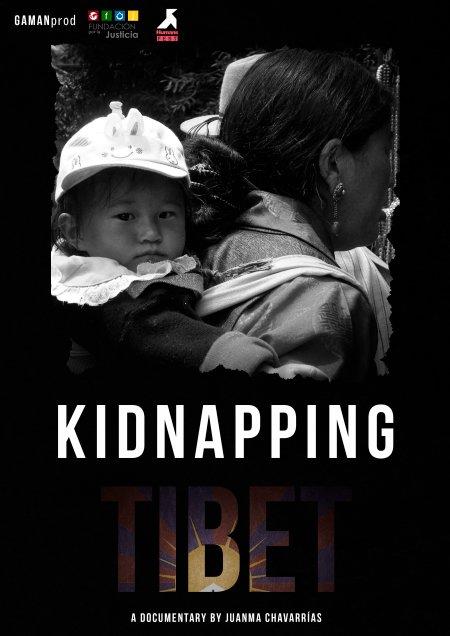 KIDNAPPING TIBET, international poster