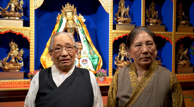 Frame from KIDNAPPING TIBET