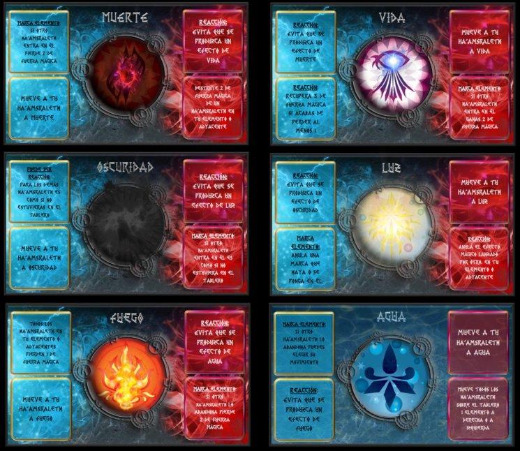 cartas de elemento del Dominio (6 de 10)