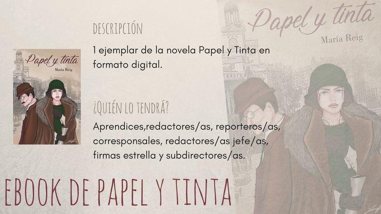 Ebook de Papel y Tinta