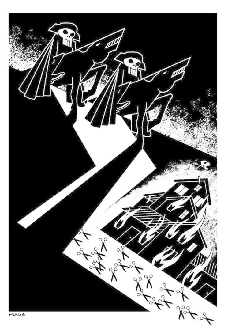 Ilustración de Miguel À. Giner