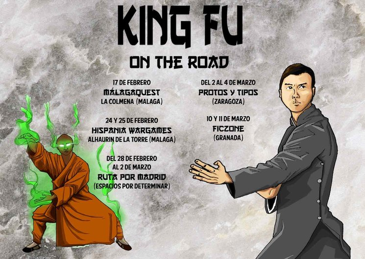 ¡King Fu on the Road!