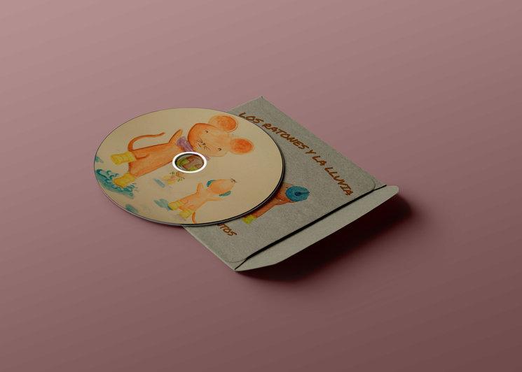 CD que acompaña al libro ilustrado