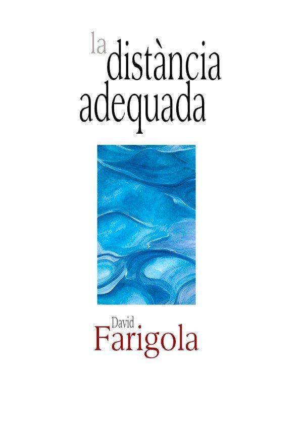 """Portada del llibre """"La distància adequada"""""""