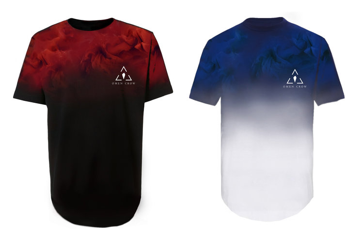 9. Red Smoke Tee ------------------------ 10. Blue Smoke Tee