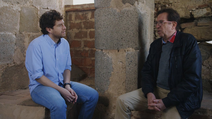 Frame del programa pilot sobre Vilanova del Vallès. Entrevista a Josep Fontbona, un dels impulsors de la independència municipal.