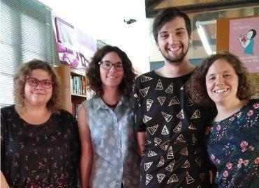 Andrea, Núria, Andreu, Neus