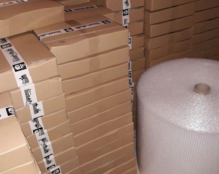 Preparando los paquetes