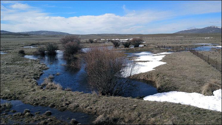 Vista de Campo Azálvaro. Foto: Carlos Tomás Rodríguez