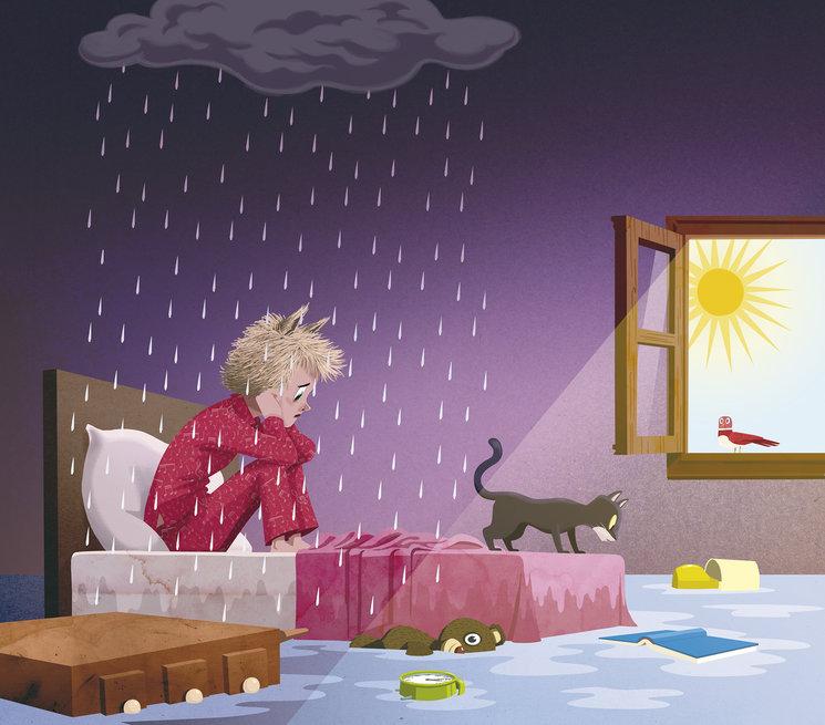 Plou al paradís