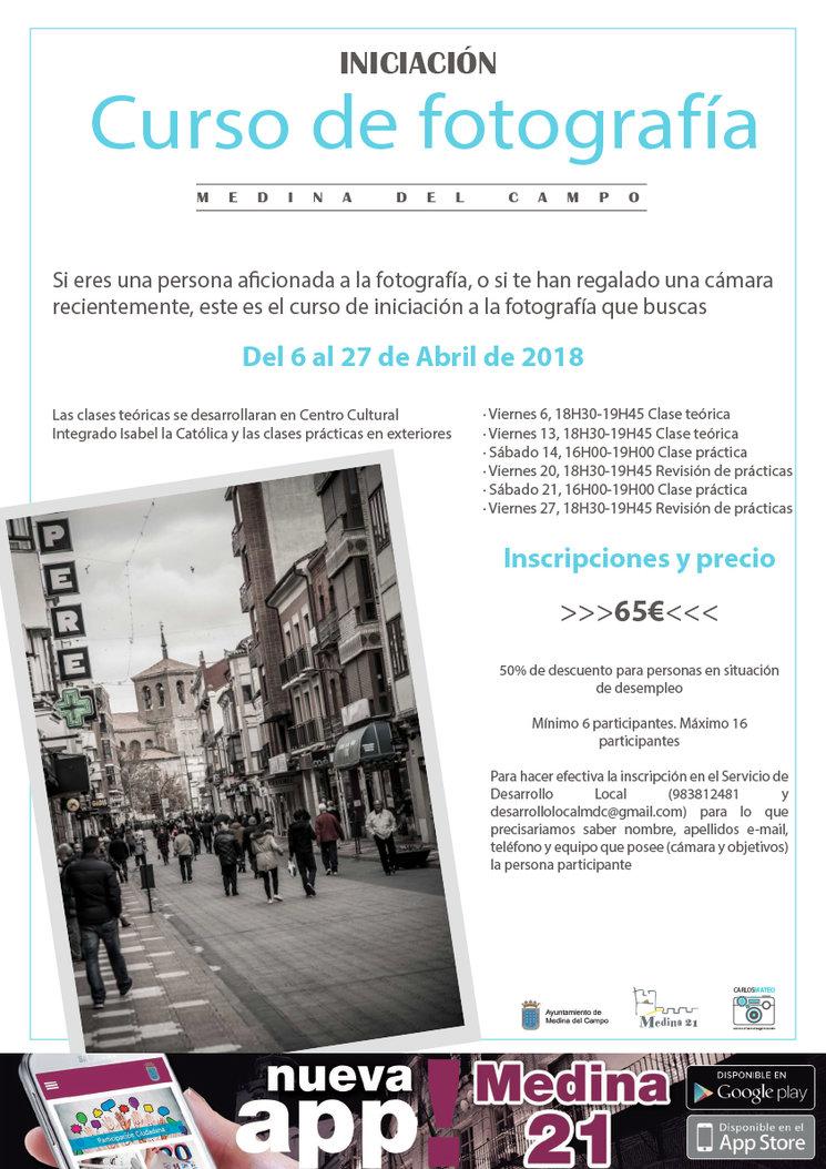 Curso de fotografía en Medina del Campo