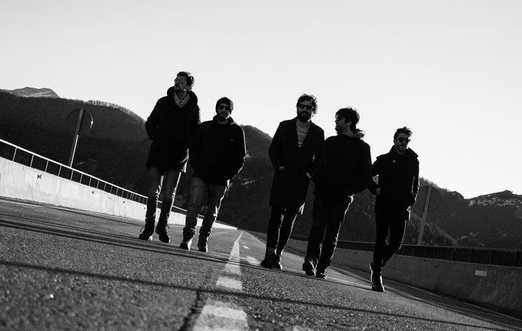 La nueva formación de Novembre Elèctric. Fotografía de Christian González.