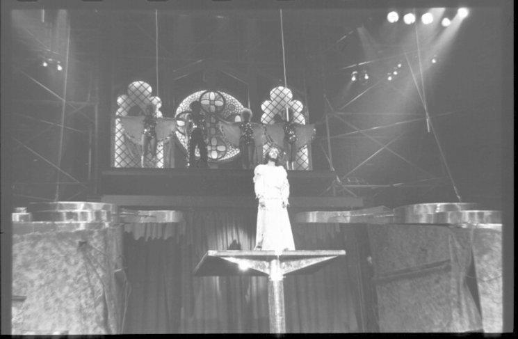 Camilo Sesto interpretando a Jesucristo