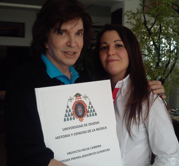 Camilo Sesto y Marta Sarabia aval estudio Jesucristo Superstar