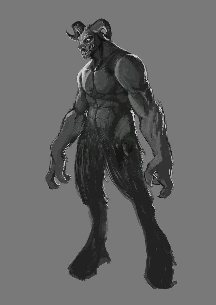 Abominación transformado (concept-art) - Rafa Majano