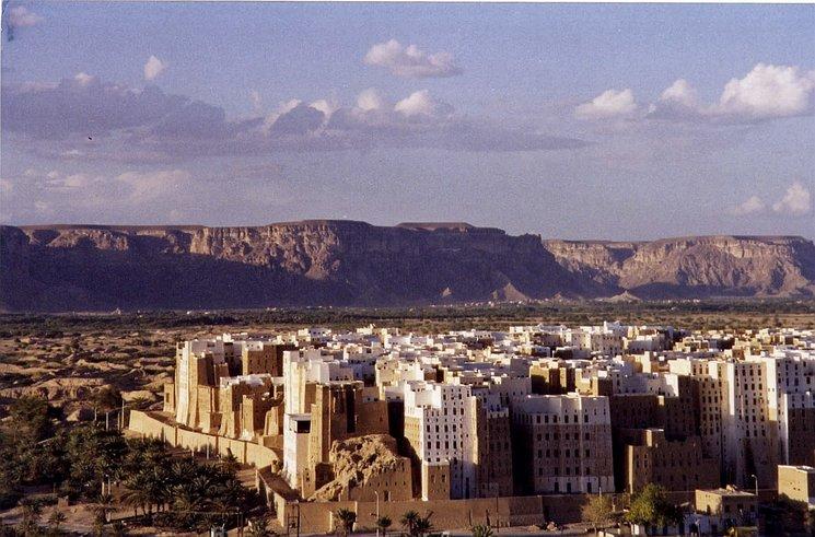 Shibam-Hadramut, en Yemen