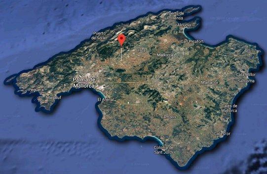 El estudio de grabación Tramuntana Estudis está localizado en Consell, Mallorca (Islas Baleares, España)