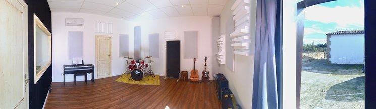 Sala de grabación del estudio