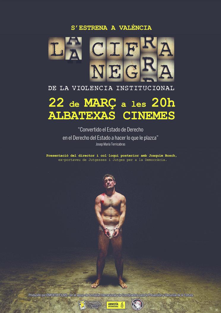 """""""La Cifra Negra"""" se estrena en Valencia el 22 de marzo"""