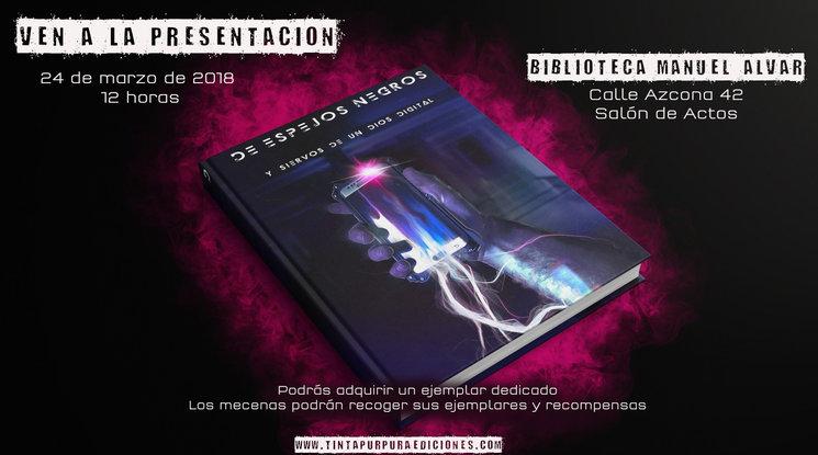 Presentación del libro «De espejos negros»
