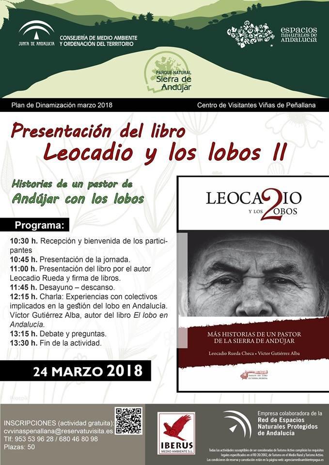 PRESENTACIÓN DE 'LEOCADIO Y LOS LOBOS II' EN LAS VIÑAS DE ANDÚJAR
