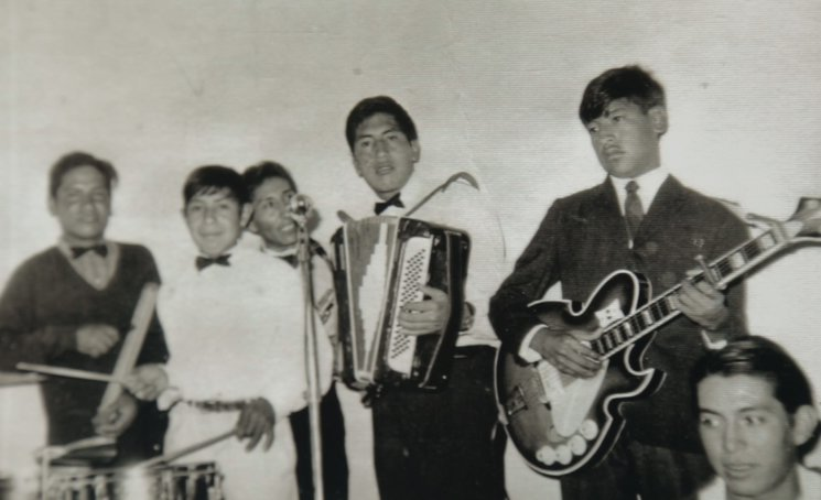 Ricardo en el grupo Santa Anita