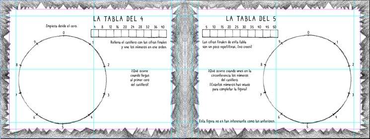 Página interior del cuaderno de actividades