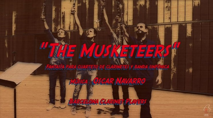 "Oscar Navarro - ""THE MUSKETEERS"" (Making of)"