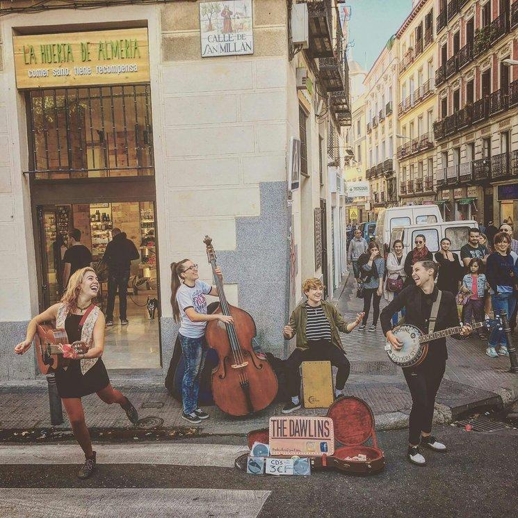 en el Rastro de Madrid