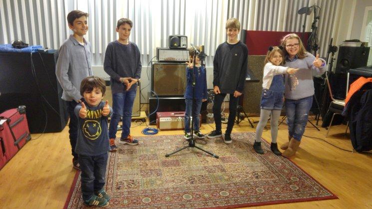 Los niños lo hicieron genial! Bruno, Juan, Mateo, Gonzalo, Pablo, Miranda y Lola