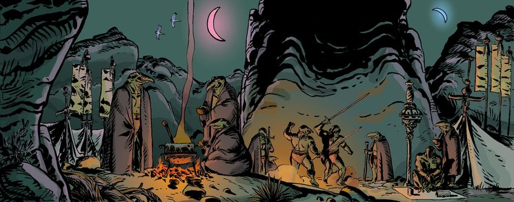 Imagen extraida de los cómics