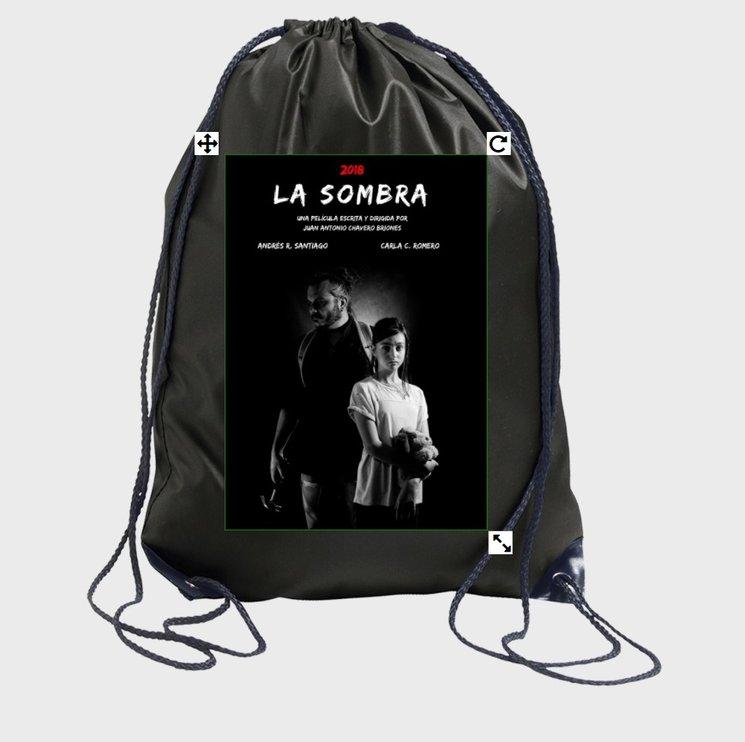 Diseño previo de mochila con cuerdas